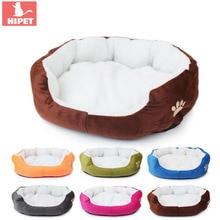 HIPET 1PC doux chat lit canapé mignon coton hiver chaud confortable impression Chihuahua petit moyen chiens chats tapis de couchage