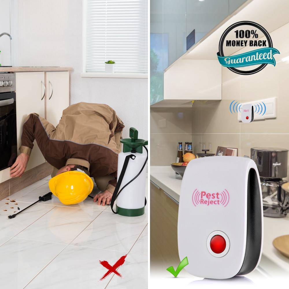 Repelente ultrasónico de plagas, repelente de mosquitos, Control electrónico de plagas, repelente de insectos, ratones, cucarachas, ratones, Dropshipping