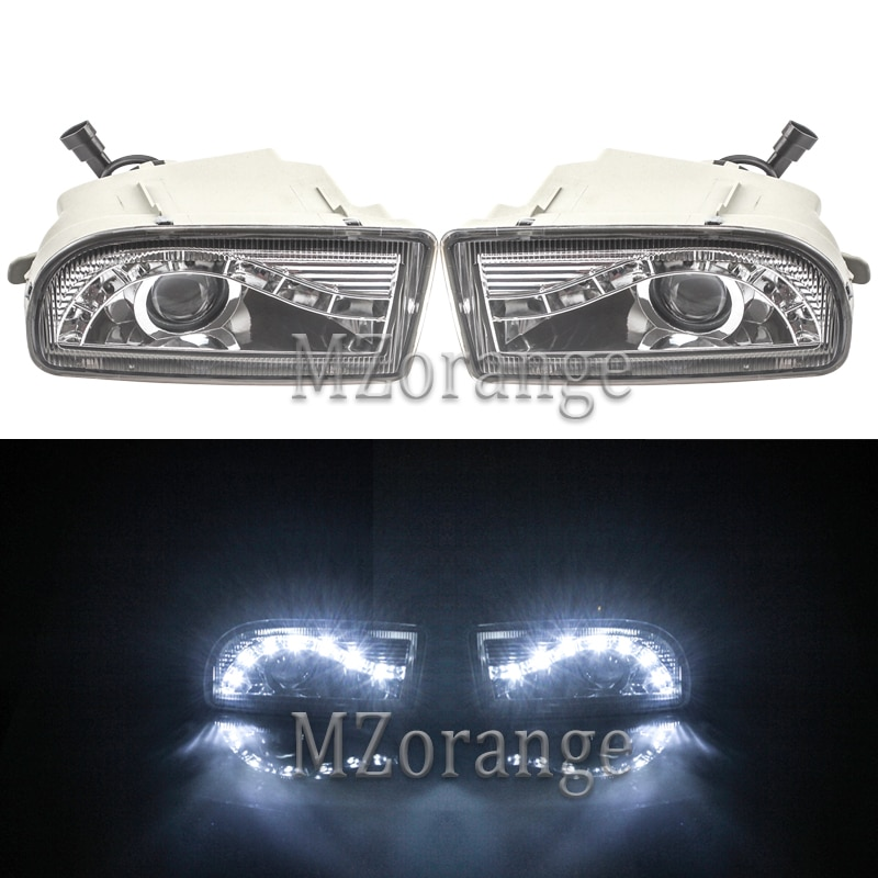 For TOYOTA LAND CRUISER 100 1998-2008 Fog Lights LED DRL Headlights Headlight Driving Lamp fog light LC100 UZJ100 FZJ100 HDJ100