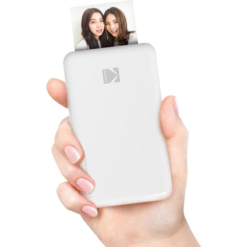 Impresora de fotos a color para teléfono móvil con Bluetooth y conexión, impresora portátil de bolsillo, mini impresora de fotos de 3 pulgadas para Kodak PM220