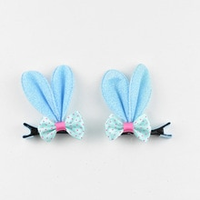 Pince à cheveux nœud de ruban BB   2 pièces, couleur bonbon tendance, épingle à cheveux avec nœud de couleur bonbon solide/points/fleur, accessoires de cheveux pour bébés filles enfants Z34