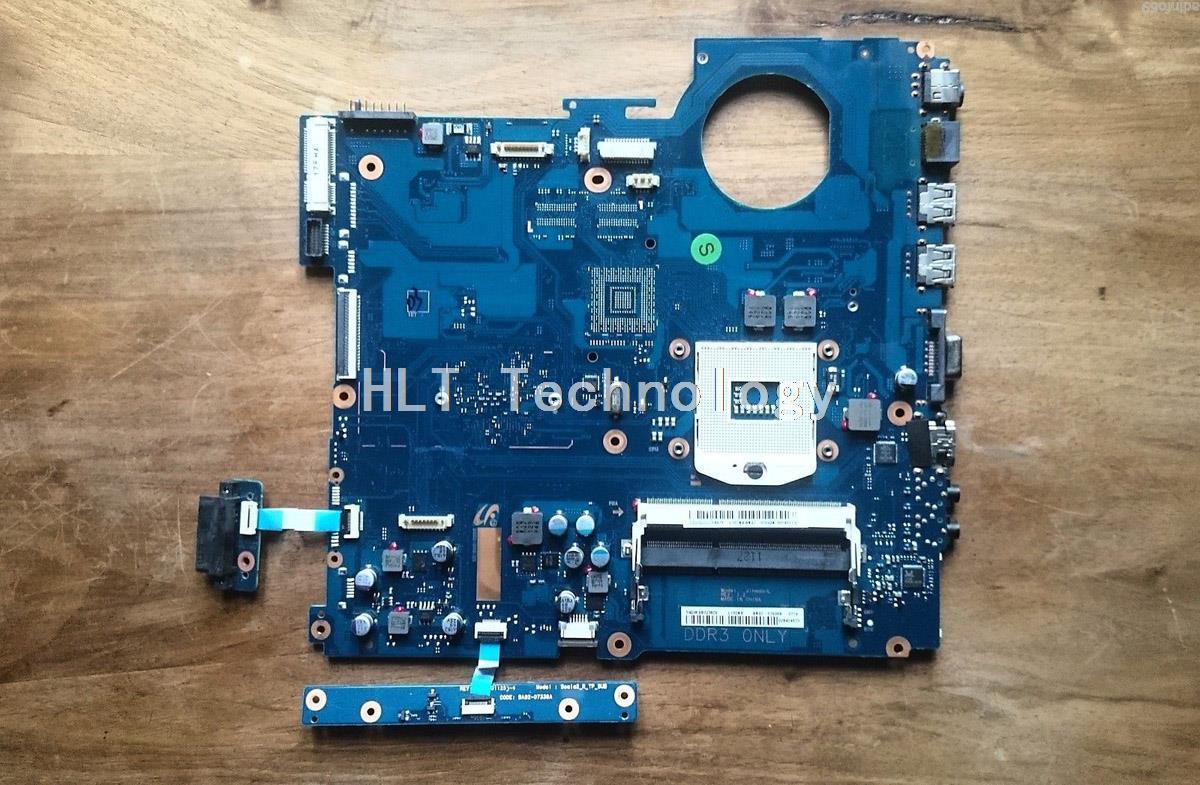 HOLYTIME placa base de computadora portátil para Samsung NP-RV511 RV511 BA92-07699A BA92-07699B HM55 DDR3 integrado tarjeta de gráficos