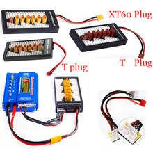 Multi 2S-6S Lipo параллельная сбалансированная зарядная плата XT30 XT60 T штепсельная Вилка для зарядного устройства для батарей RC B6AC A6 720i литиевая