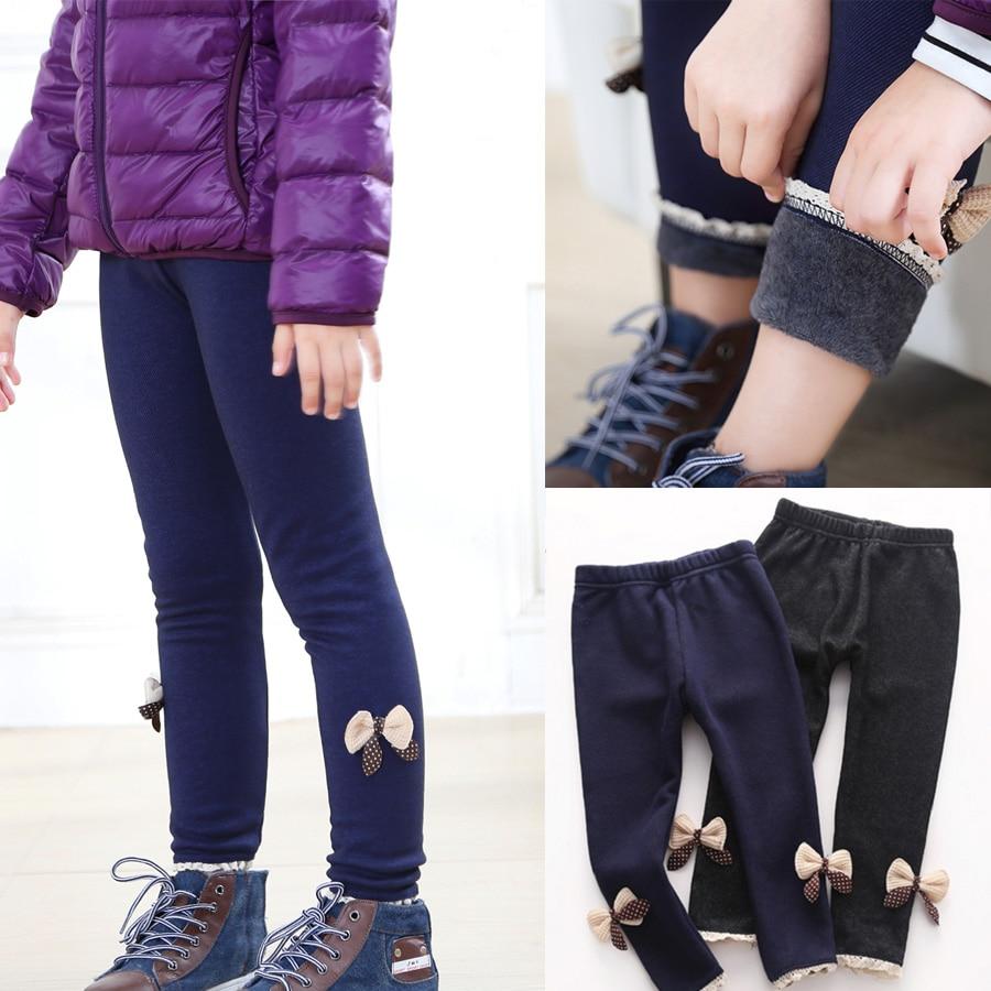 Oferta, pantalones de otoño e invierno para niña con flores, mallas para niña, leggins de moda para niños, legging cálido, leggings para niña WCH862