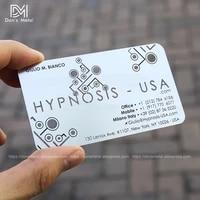 metal business card metal membership card design production personality stainless steel business card metal card custom
