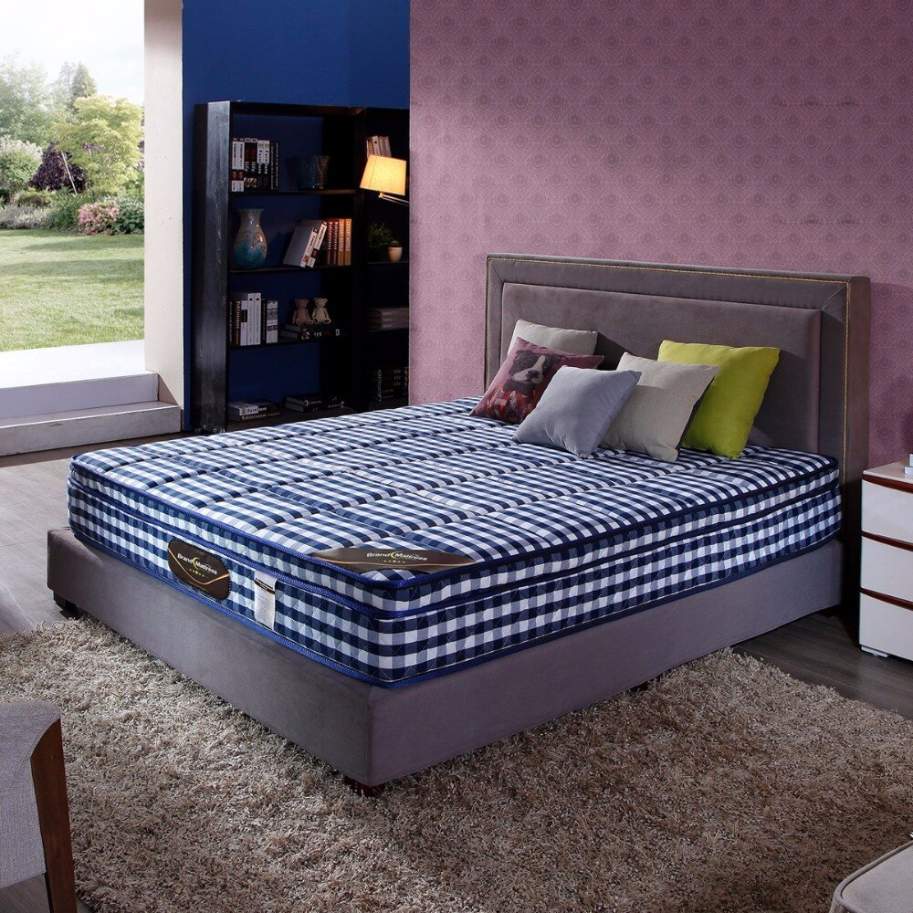 Compressed Latex Pocket Mattress with High Density Foam, king size mattress, queen size mattress, custom size mattress.
