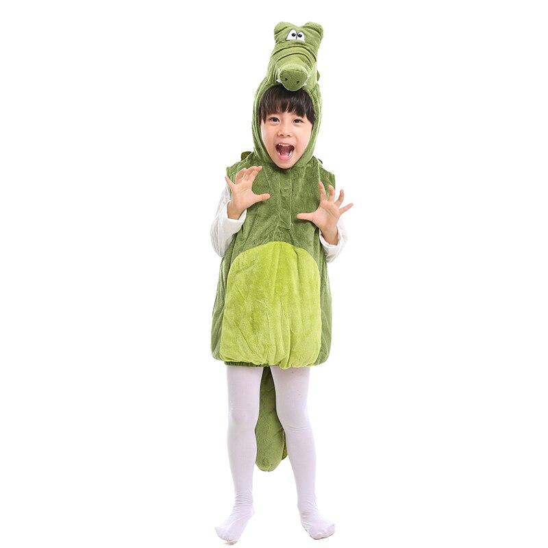 Niño niño lindo cocodrilo traje bebé Animal marino trajes niños cocodrilo chaleco