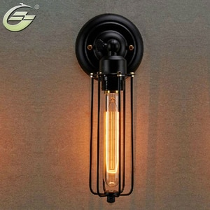 Vintage Style Hotel Cafe Bar Restaurant Wall Lamps Home Decoration Lighting Wall Light Lampholder E26/E27 Edison Light Lamp