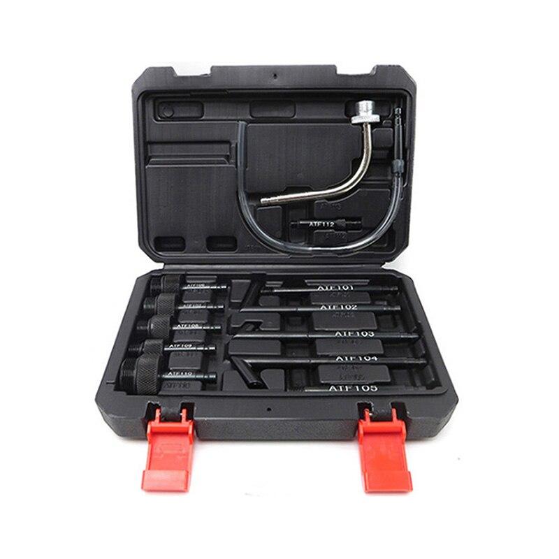 13 шт. набор адаптеров для наполнения трансмиссии atf, машина для замены топливного диспенсера, насосный масляный заменитель, коробка передач, инструмент для наполнителя масла