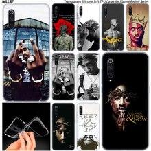 2Pac Tupac Amaru Shakur coque en silicone souple pour Xiao mi Pocophone F1 mi 5X A1 6X A2 8 SE Lite Play mi x3 9 9SE 9 T Pro CC9