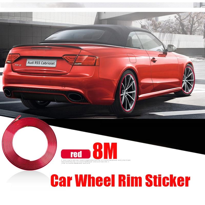 5m 8m 10m de Universal protectores de borde de puerta de coche protección de moldura embellecedora de arañazos Protector para Toyota Audi BMW Ford volvo