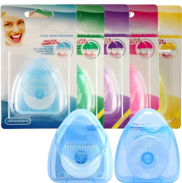1pcs 50M Oral Hygiene Kit Teeth Care Oral Care Tooth Clean Fio Dental Dentes Oral Dental Floss