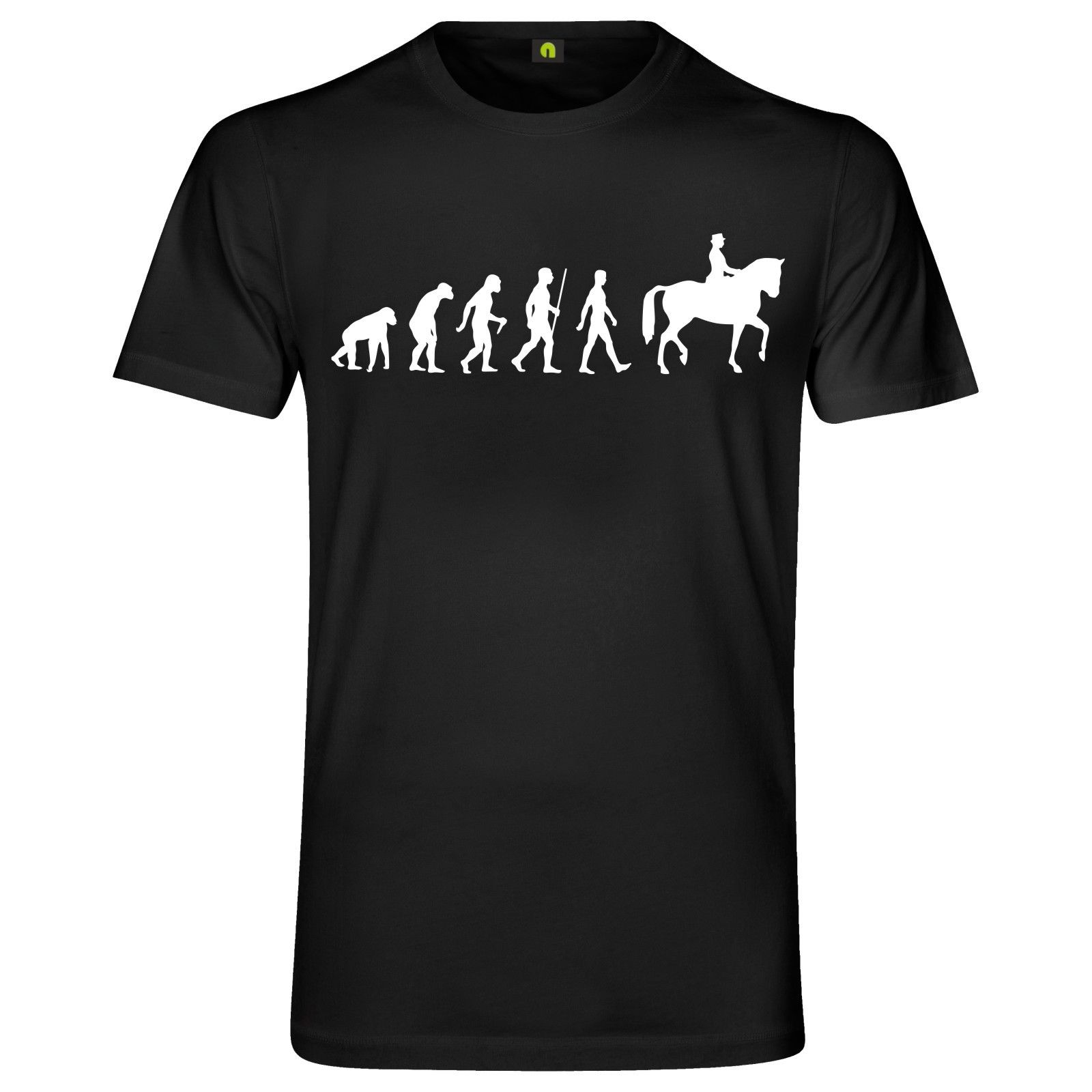 2019 Fashion Cool Men T-shirt Evolution Horse T-Shirt | Pony | STUD | horse| YARD | hutch Tee