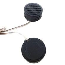 Dewtreetali High quality  Mini Speaker 2 x 500 Watts Super Power Loud Dome Tweeter Speakers for Car 500W