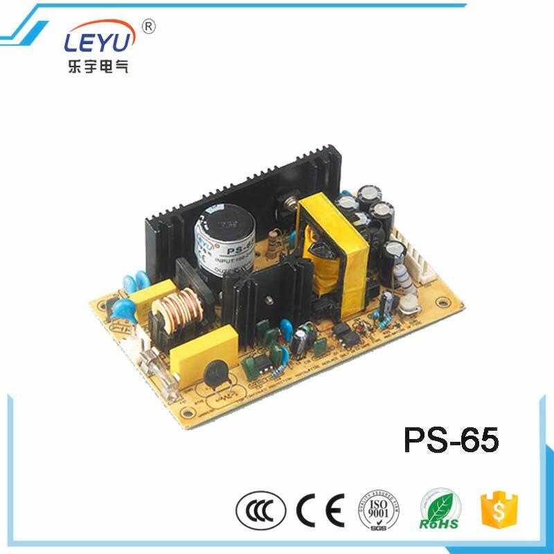 PS série open frame 65w 220 v/110 v curto circuito led PS-65-5 única saída 12a comutação de alimentação fornecer