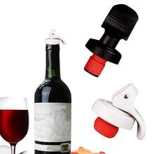 IVYSHION многоцветная пластиковая бутылка для вина вакуумная пробка Герметичная Бутылка для вина пробка для шампанского Хранитель давления