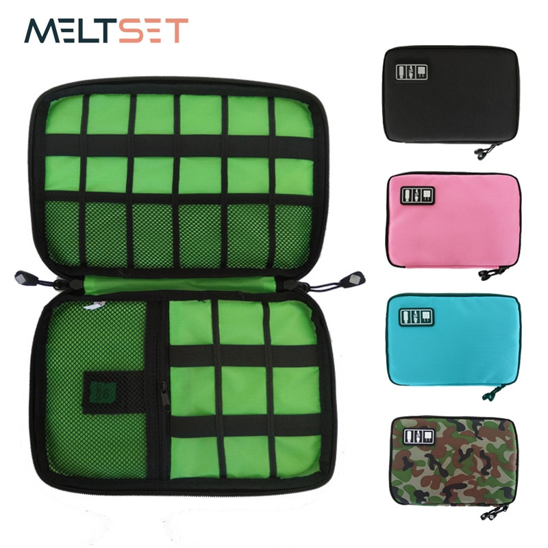 Gadget Cable Organizer Storage Bag Travel Electronic Accessories Cable Pouch Case USB Charger Power