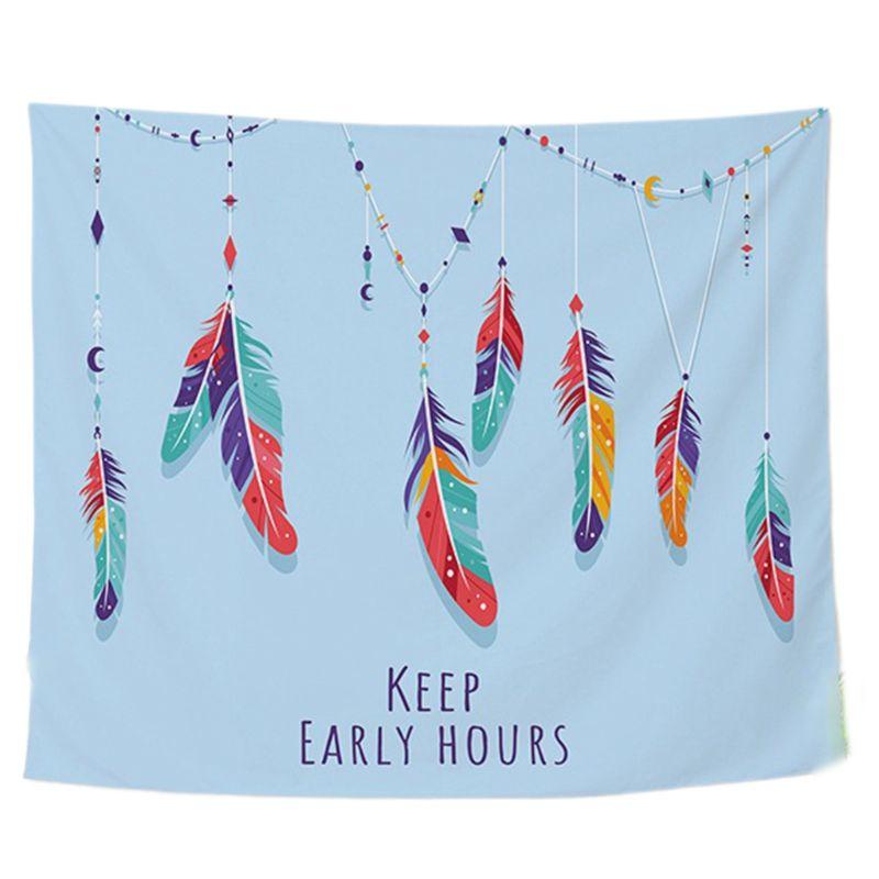 150*100CM sueño Catcher tapiz colgante de pared de arte, tapicería de cortina tapices colchas casa Beadroom