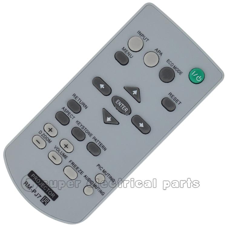 Control remoto RM-PJ7 para sony proyector VPL-EX10 VPL-EX120 VPL-EX145 VPL-EX175 VPL-EX121 VPL-EX146