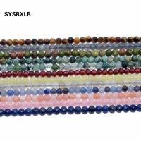 3 mm natural stone beads lapis lazuli rose quartzs crystal labradorit agates amethysts for jewelry making diy bracelet material