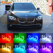 DTM Style RF télécommande Bluetooth APP multicolore rvb LED yeux dange pour BMW F01 F02 F03 F04 730d 740d 740i 750i 760i 2008-2012