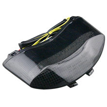 LED Tail Light Integrated Turn Signal For Triumph 675 Daytona 2005-2010 Speed Triple Tripler 2008-2010 Smoke
