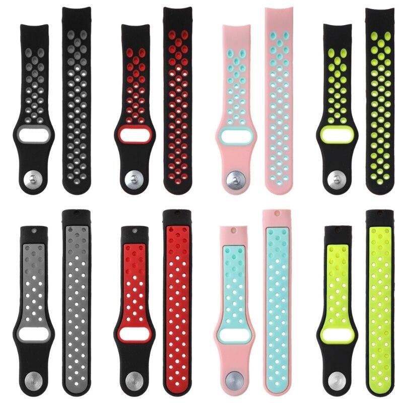 Pulsera hueca colorida para Huawei Honor 3 pulsera correa ajustable de reloj de silicona deportiva