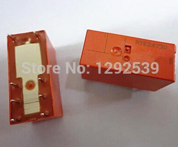 10 unids/lote AC 230V relé RTE24730 en lugar de EMI-2230A con G2R-2-AC230V8A mejor calidad.
