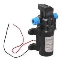 dc 12v water pump 115psi high pressure 5lmin agricultural electric water pump black diaphragm water spra