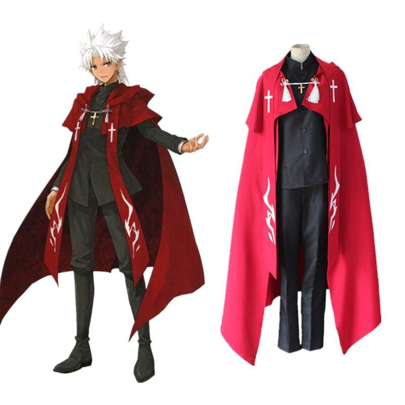 Destin animé Grand ordre Cosplay Amakusa Shirou Tokisada uniforme destin Apocrypha Shirou Kotomine fantaisie ensemble de tenue de fête