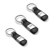 Porte-clés de voiture en cuir Q3 Q5 Q7 TT   Logo, porte-clés de voiture, porte-clés chaîne de clé de voiture pour Audi Q5 Q3 Q7 TT, accessoires de style de voiture