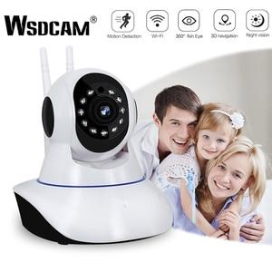 Wsdcam 1080P IP Camera Wireless Home Security Camera Surveillance Camera Wifi Night Vision CCTV Camera Baby Monitor Smart Track