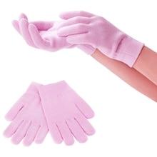 1 زوج السيليكا هلام القطن ترطيب قفازات الأيدي العناية بالبشرة قفازات التنظيف للملابس أطباق غسل البستنة المنزلية الغبار