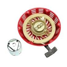 Pull Starter Recoil Mit Flansch Tasse Set Für Honda Gx340 11Hp & Gx390 13Hp Rasenmäher Generator Motor Starter Seil