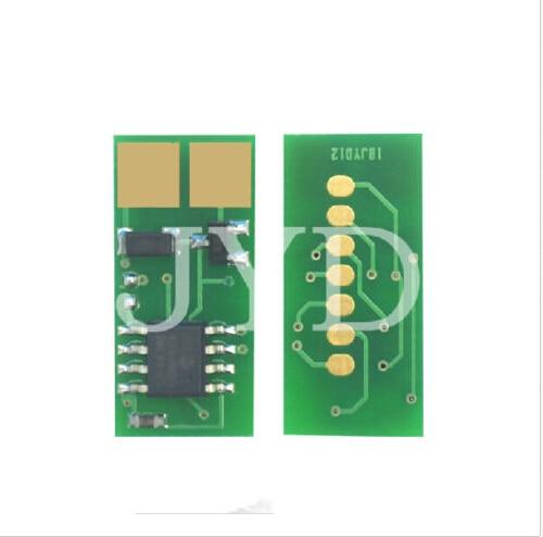 5 uds para LEXMARK T640 tóner CHIP T640 642 T644 X642 cartuchos de tóner