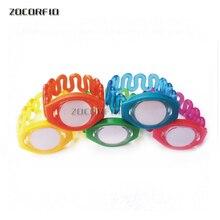 Free shipping 10pcs 125khz TK4100 Waterproof  plastic rfid wristband RFID tag for swimming pool,gym club,spa club
