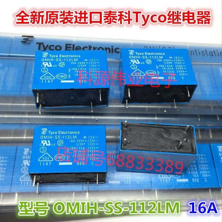 Relé de OMIH-SS-112LM 12VDC 16A4PIN OMIH-SH-112LM