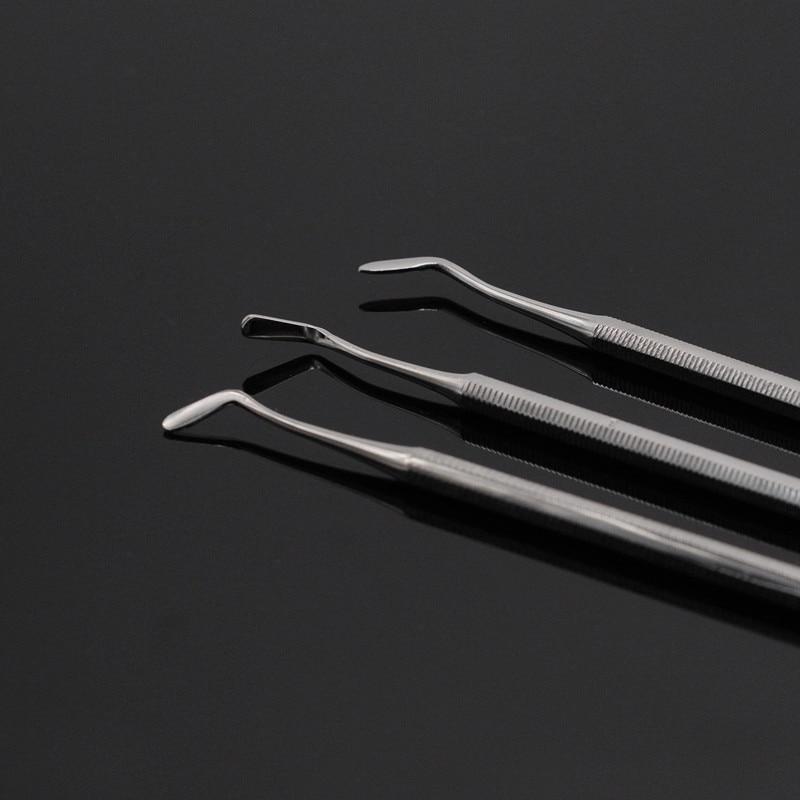 Composite Filling Instrument Spatula Amalgam Plastic Double Ends Ball For Dental Clinic