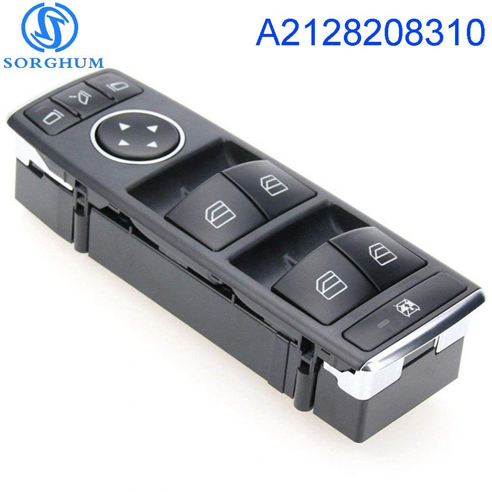 Interruptor de ventana de Control eléctrico maestro para Mercedes Benz Clase C...