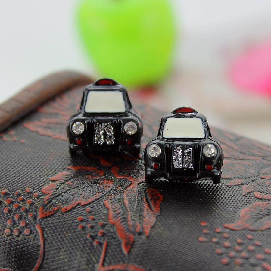 XQ Freies verschiffen 2015 Die neue BJ schwarz und weiß auto niedliche ohrringe ohrringe für frauen modeschmuck
