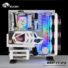 Kit de Solution de canal deau BYKSKI acrylique pour boîtier/Kit Tt Core P3 pour bloc CPU et GPU/réservoir à la place