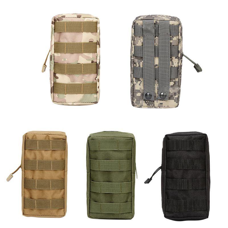 Chaleco táctico bolsa accesorio herramienta riñonera nailon Molle Utility Fanny Pack militar Paintball al aire libre caza Primeros Auxilios bolsas