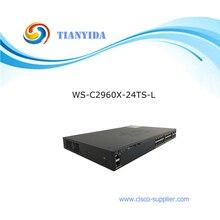 Catalyseur 2960-X série WS-C2960X-24TS-L 24 ports Fiber empilable Gigabit commutateur