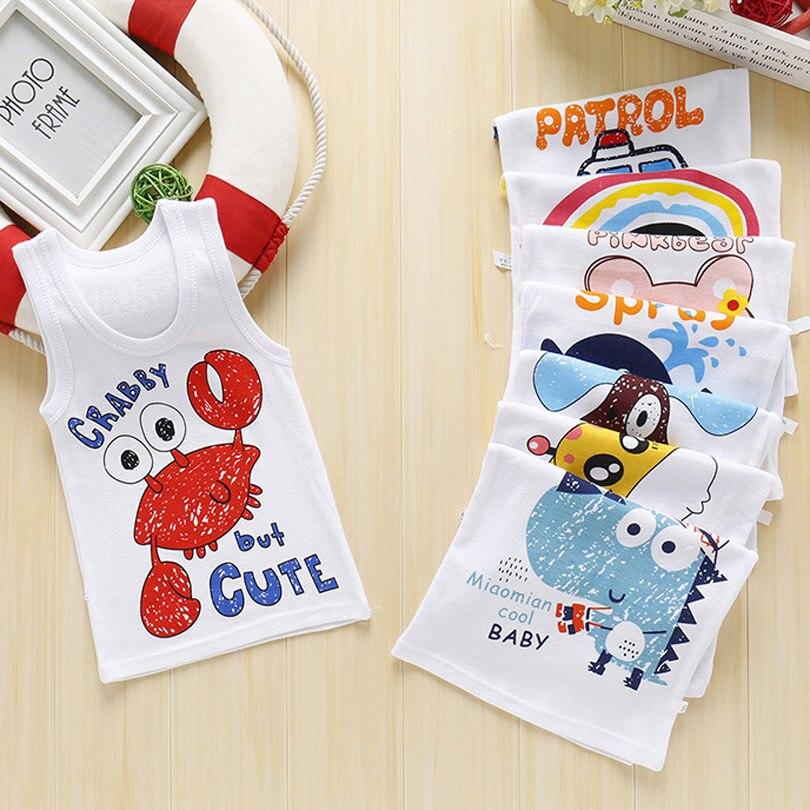 Camiseta de verano para bebés y niñas, camisetas de algodón con animales de dibujos animados para niños, camisetas para niños, ropa para tallas 1, 2, 3, 4, 5, 6 años