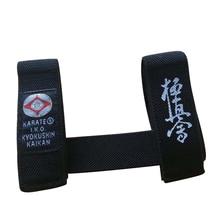 Sinobudo IKO Kyokushin пояс для каратэ фиксатор каратэ Kyokushin Kai ремень фиксатор черный ремень фиксатор