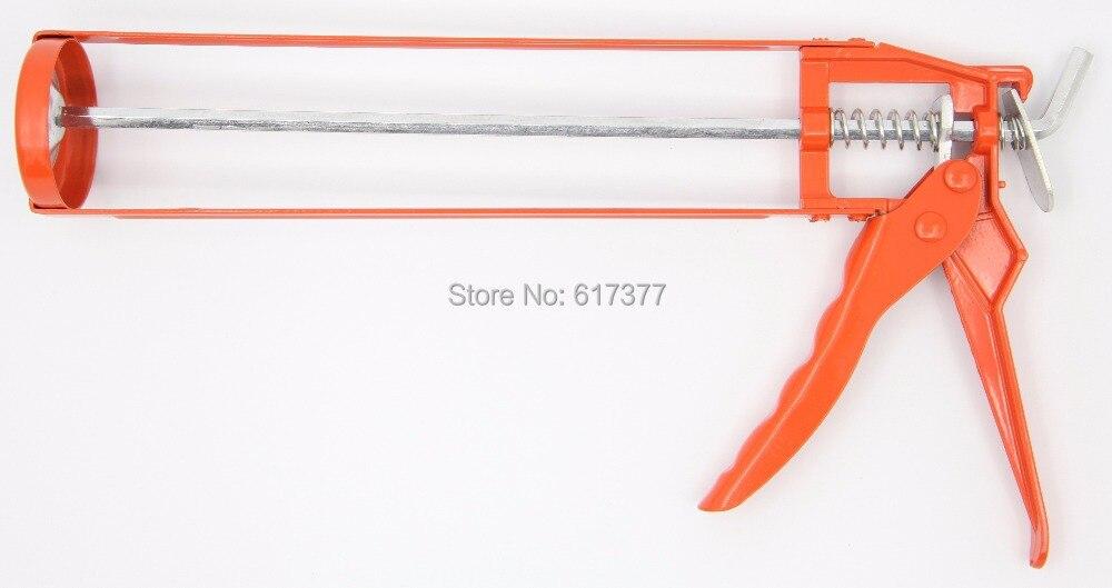 Economy and Popular Type DIY  310ml 10.3oz Cartridge Sealant  Manual Caulking Gun Handle Silicone Gun Sealant Gun
