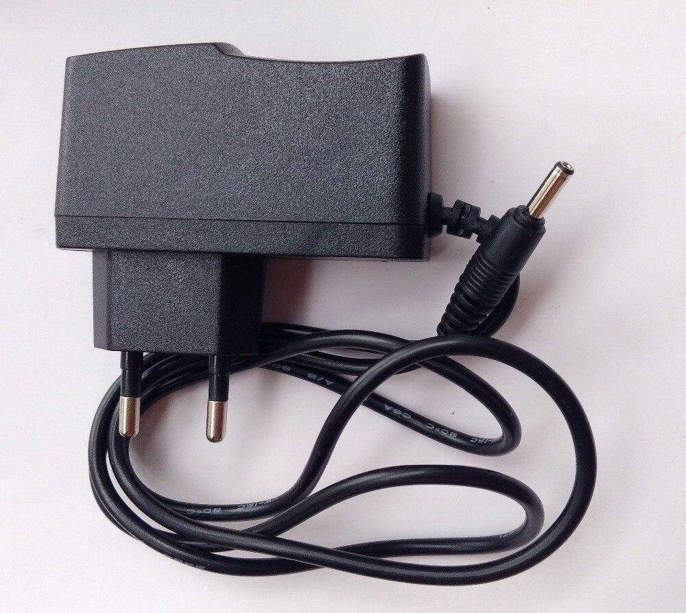 8 stücke 220 V zu DC 5 V 1000mA Adapter EU stecker auf 3,5mm x 1,35mm Power Ladegerät für MP4 PSP
