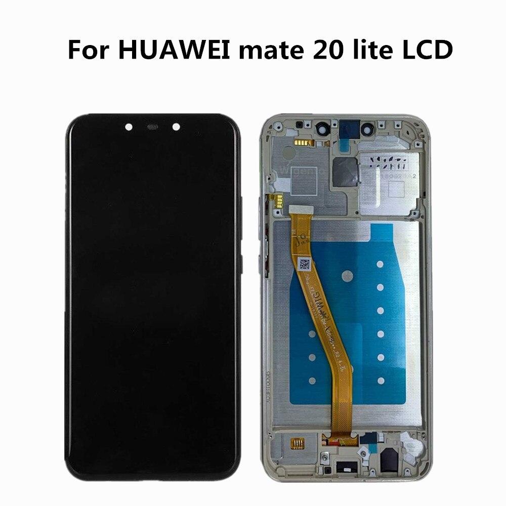 """Original para 6.3 """"huawei companheiro 20 lite companheiro 20 lite display lcd + painel de toque digitador para companheiro 20 lite quadro"""