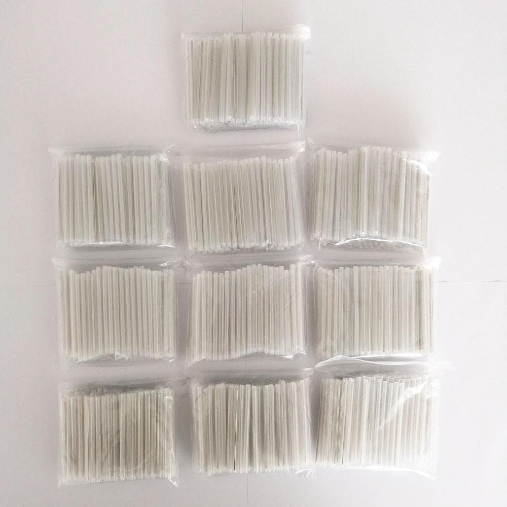 1000pcs/bag 45mm Fiber Optic Splicing Sleeve Heat Shrinkable Tube 1.2 Needle Heat Shrink Protection Sleeve Bare Fiber