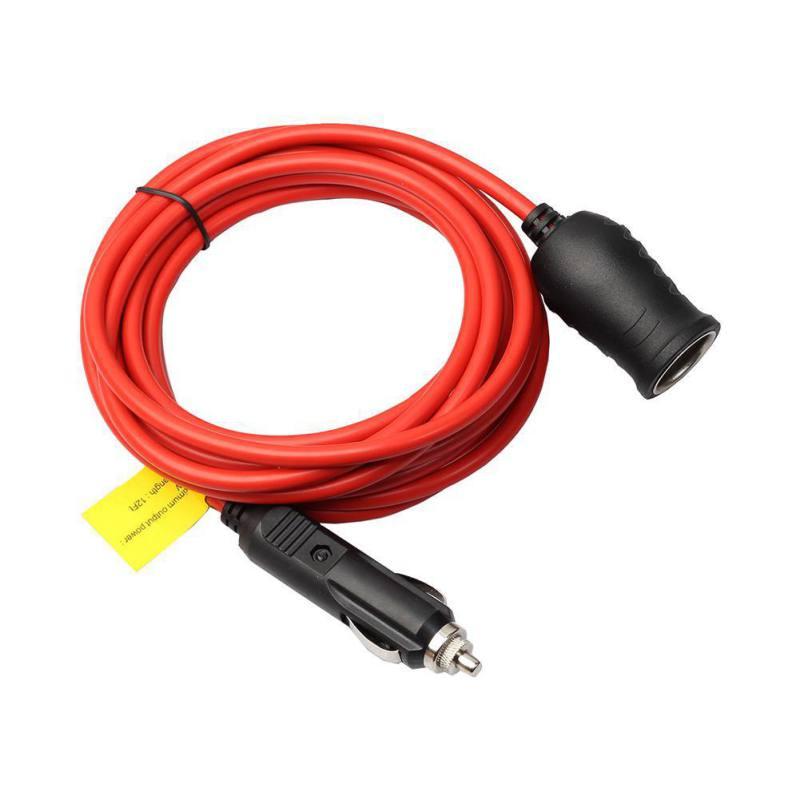 Enchufe de encendedor de coche 2019 con fusible y cable 12-24V encendedor de cigarrillos de coche impermeable Barco de la motocicleta